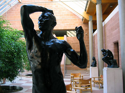 Rodin Sculptures at the Burrell Collection