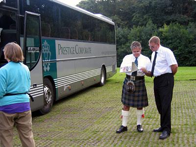 Tom & Graham, Our Scottish Guides