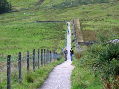 Path on Ben Nevis