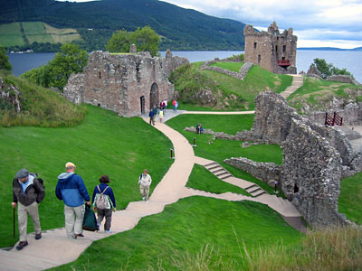 Castle Urquhart on Loch Ness