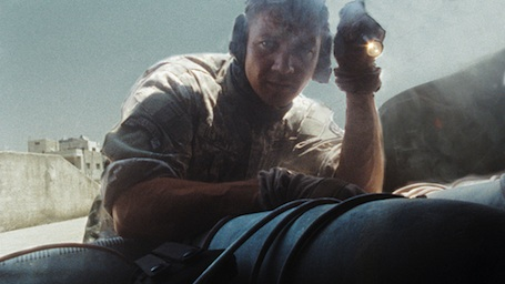 James and a trunkload of bombs
