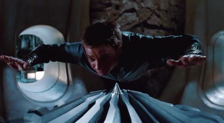 Brandt hovering in a cooling shaft