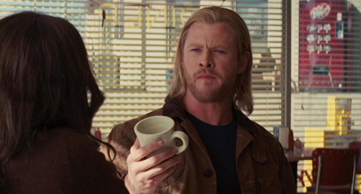Thor with Coffee Mug